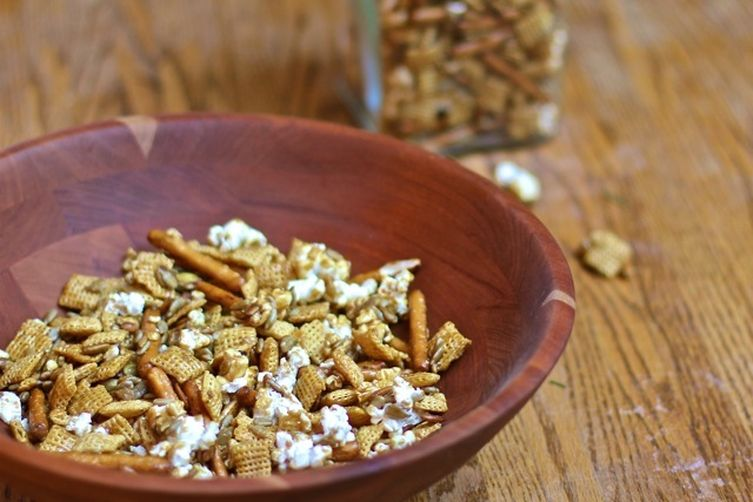 Toffee Chex Party Mix