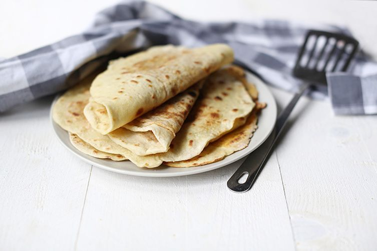 How to make soft savory Roti with Dahl
