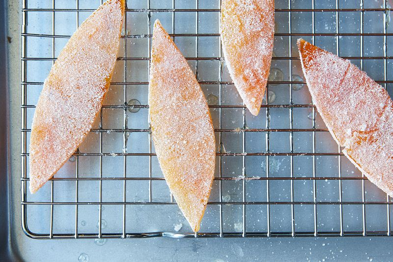 How to Make Candied Citrus Peel by Alice Medrich