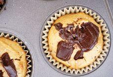Peanut Butter Chocolate Chunk Muffins