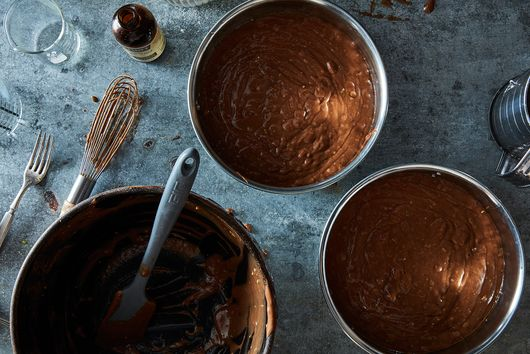 Never Have a Cake Pan Overflow Again with This Simple Rule