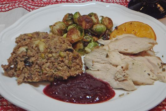 Chestnut, Pork and Nut Stuffing - My family's traditional recipe