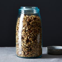 Walnut-Rosemary Savory Granola