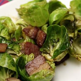 Wilted Brussels Salad