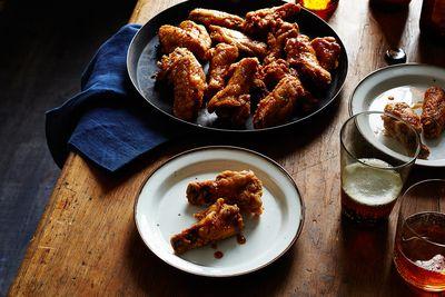 Korean Fried Chicken Wings (KFC)