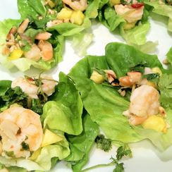 Summer-Fresh Shrimp Thai Lettuce Appetizers