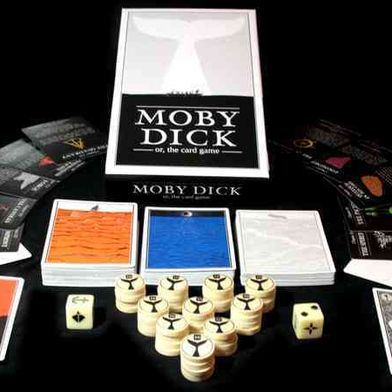 Moby Dick, The Card Game