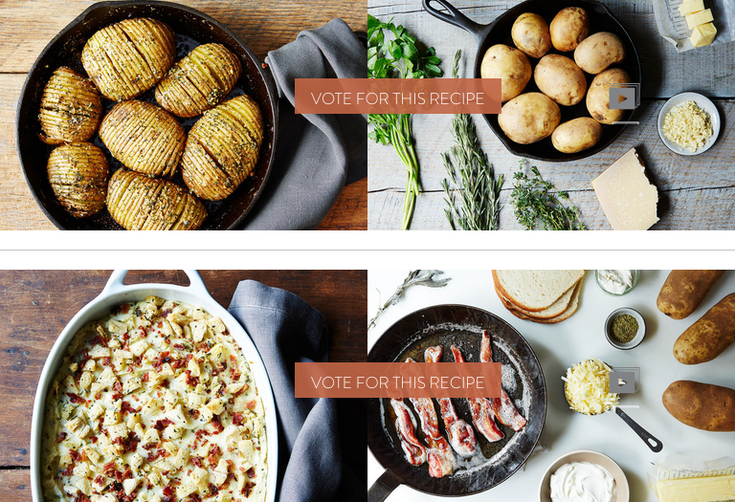Finalists: Your Best Recipe with Potatoes 2.0