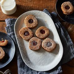 Slice and Bake Linzer Cookies