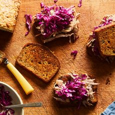 Banana Bread Sandwiches With Pulled Pork