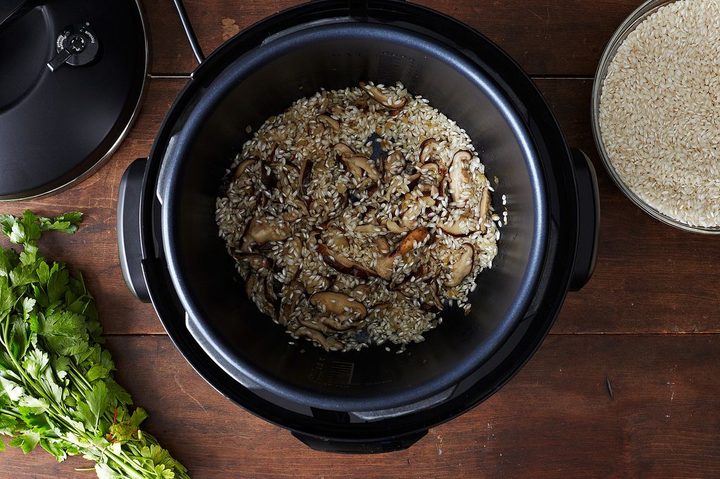 Pressure Cooker with Risotto