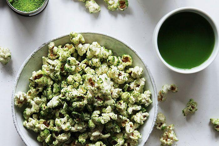 Matcha Popcorn