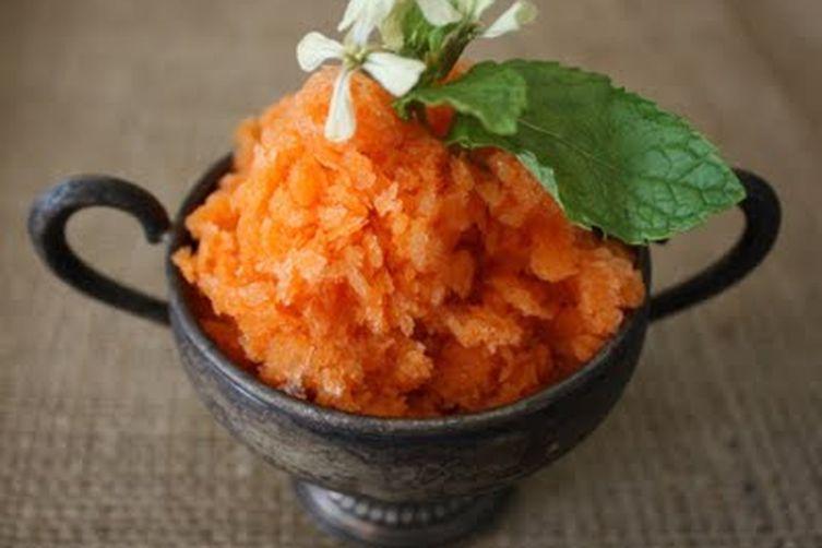 carrot granita