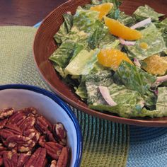 Triple Citrus Caesar Salad