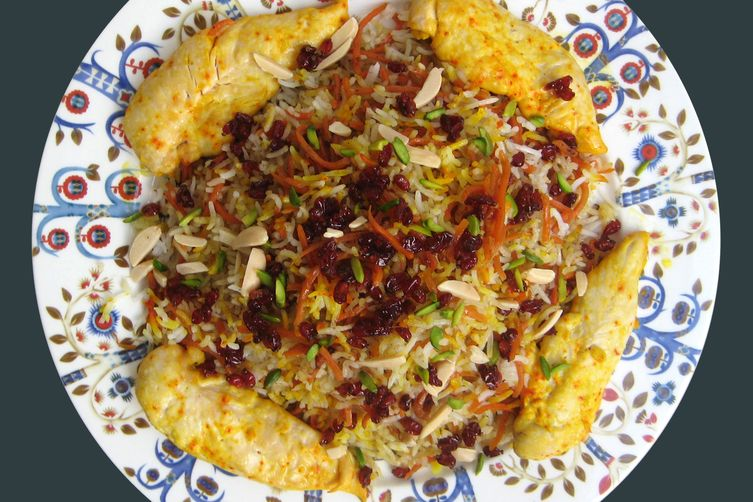 Shirin Polo - Persian Sweet Rice