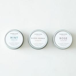 Blood Orange, Rose, and Mint Lip Balm Set