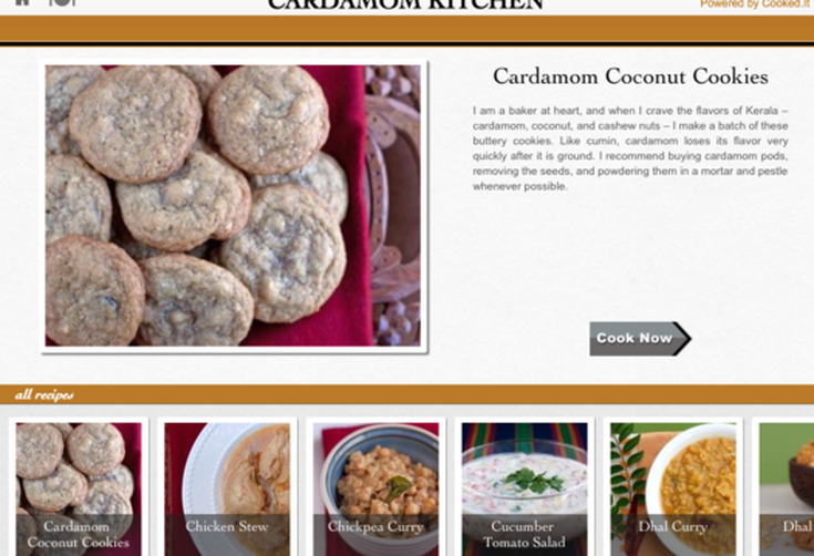 For Your iPad: Cardamom Kitchen