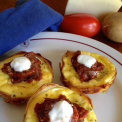 Asiago Quiche Cups