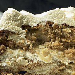 Yotam Ottolenghi's Apple and Olive Oil Cake with Maple Icing