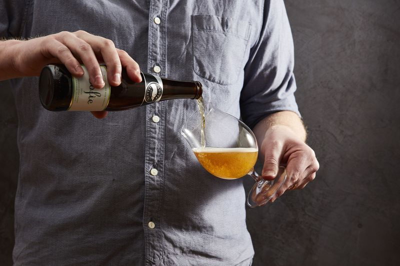 A Better Way to Pour Beer (It's All in the Tilt!)