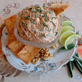 Aselila, Georgian Egg Salad with Walnuts and Sage