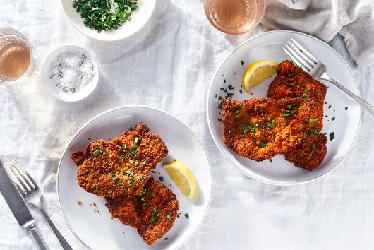 A One-Ingredient Hack for the Crispiest, Juiciest Chicken Schnitzel