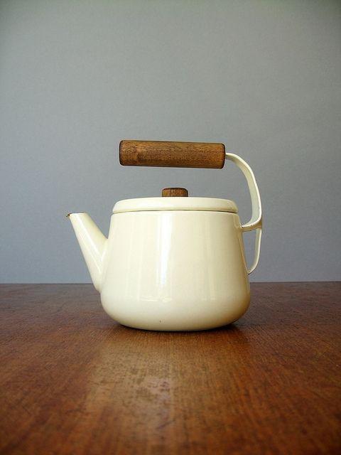 Vintage Scandinavian teapot