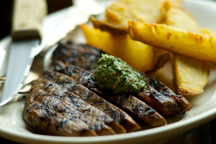 Classic London Broil with a Twist of St. John's & Cottage Fries Recip...