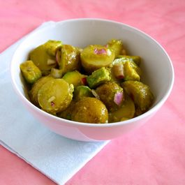 Avocado and Potato Salad with Hatch Chile Vinaigrette