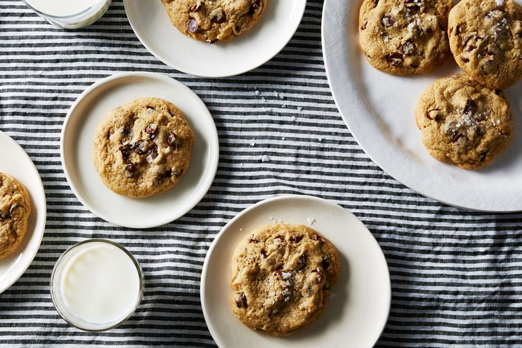 """Sourdough"" Chocolate Chip Cookies"