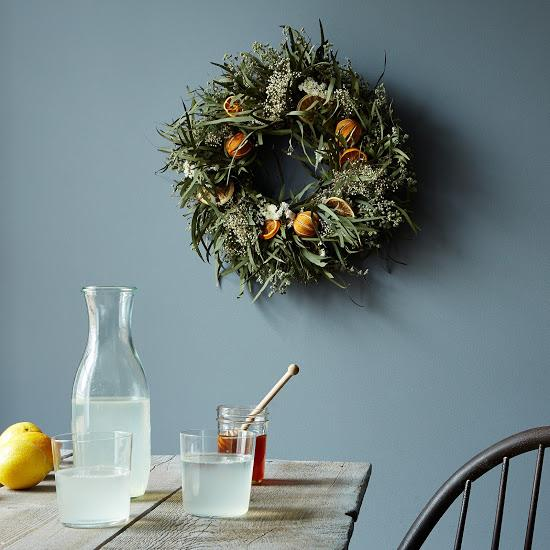 Dried Citrus Wreath by Creekside Farms