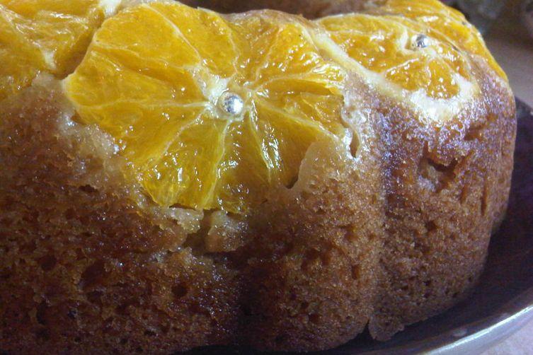 Orange & Honey Madeira Cake