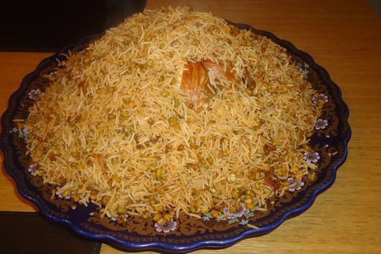 Mung Bean Rice- Mosh Polo