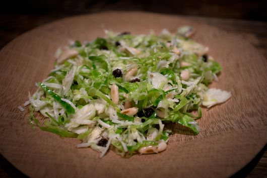 Shaved Brussels Sprouts Salad Redux