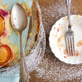 Peach and Berry Clafoutis