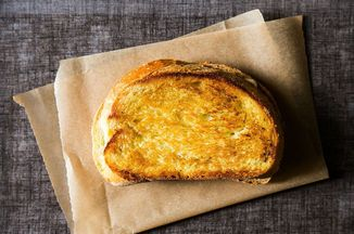 Grilled Aged Cheddar Cheese Sandwich With Pistachio Sage