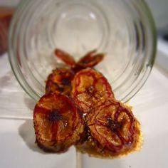 Honey Glazed Banana Chips