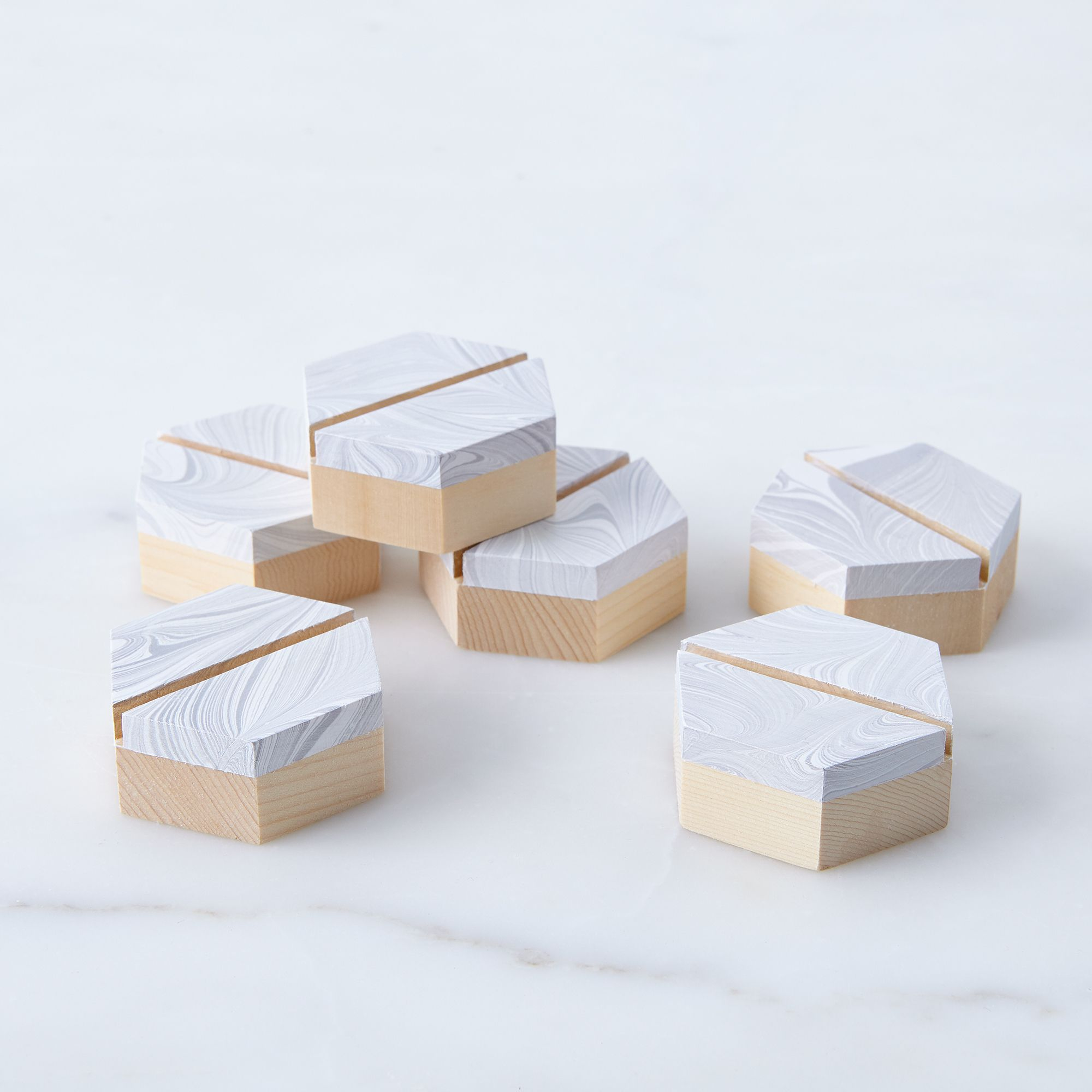 Geometric Placecard Holders Set Of 6 On Food52