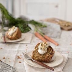 Buttermilk Carrot Cake + Spiced Skyr