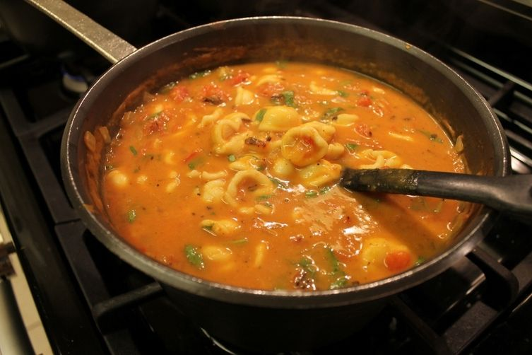 Lazy Manicotti Soup