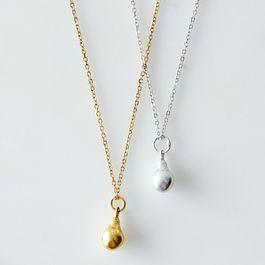 Miniature Pear Drop Necklace