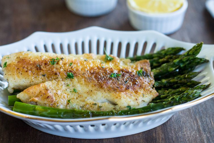 Andrea 39 s pan seared tilapia recipe on food52 for Is tilapia a bottom feeder fish