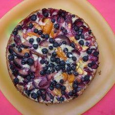 Plum Apricot tart