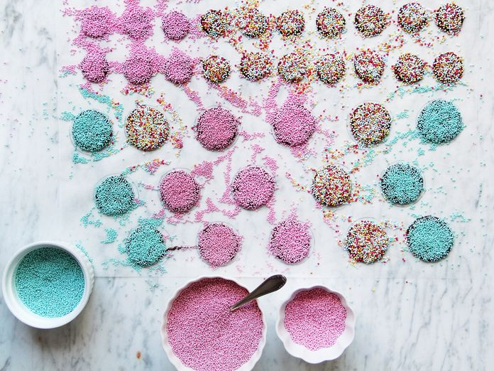 Cover Chocolate with Sprinkles, Call it a Homemade Gift