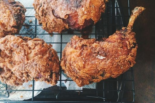 Spicy Buttermilk Fried Chicken