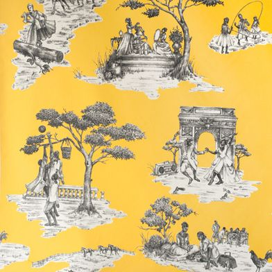 Harlem Toile De Jouy, Shelia Bridges