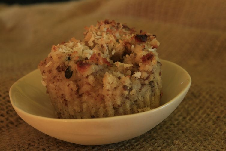 Magic Tropical Coconut Banana Muffins