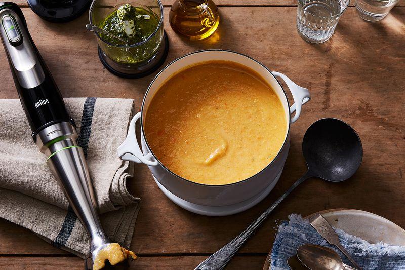 The creamiest, dreamiest bean soup.