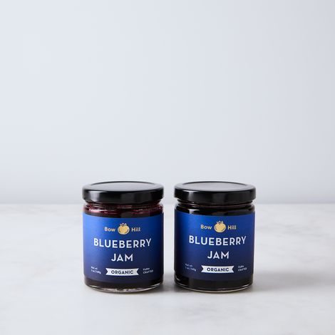Organic Heirloom Blueberry Jam (Set of 2)