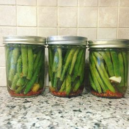 24-Hour Pickled Green Beans
